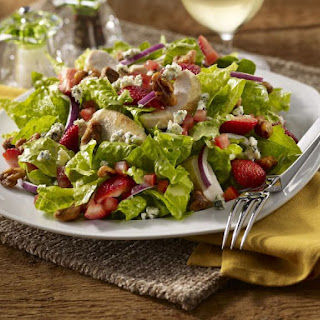 Chicken Salad with Strawberry Vinaigrette