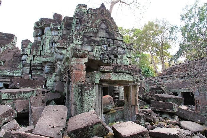 Руины храма Преа Кхан, Ангкор