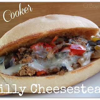 Slow Cooker Philly Cheesesteaks.