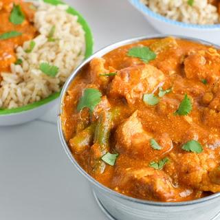 Instant Pot Indian Butter Chicken.