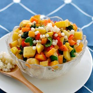 Pearl CousCous Vegetable Salad.