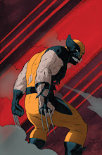 """Photo: WOLVERINE #5.1 Cover. 2010. Ink with digital color on bristol board, 11 x 17""""."""