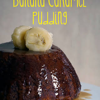 Banana Caramel Pudding.