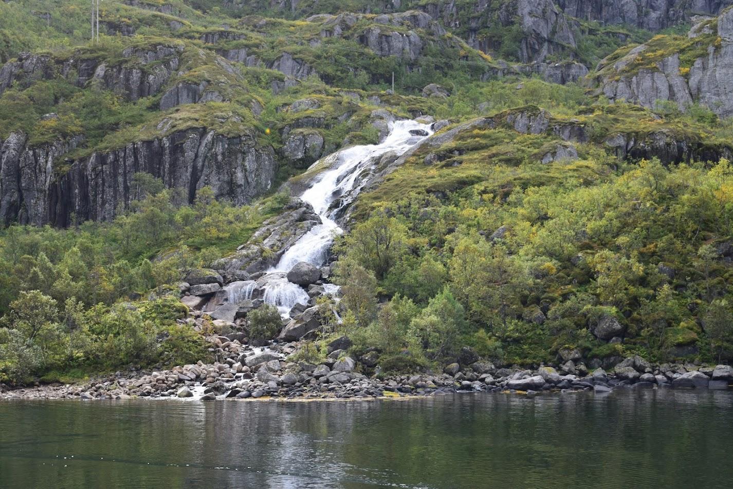 Near Trollfjorden.