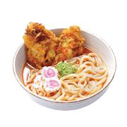 Spice Vegetable Kakiage Udon