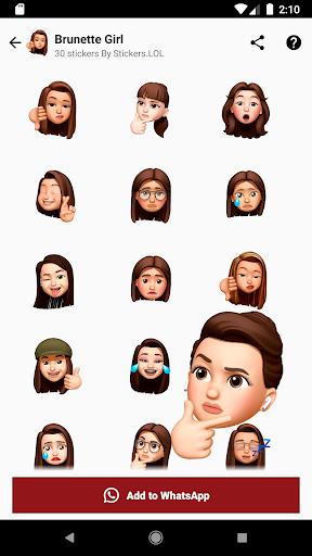 Emojis, Memojis and Memes Stickers screenshot 6