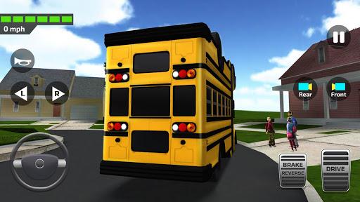 Télécharger Super High School Bus Simulateur & jeu de voiture APK MOD (Astuce) screenshots 1