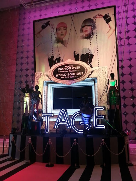 Photo: Entrance of our Fashion Week, World Boutique 2013!