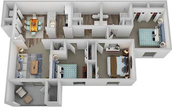 Go to Baha Floorplan page.