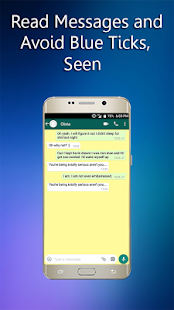 Blue tick hider - Hidden Chat For Whatsapp - náhled