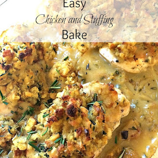 Chicken Stuffing Bake With Cream Of Mushroom Soup Recipes.