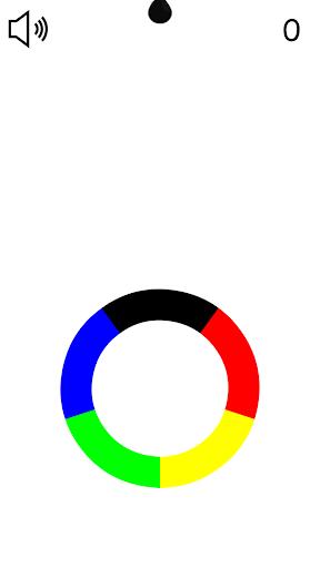 Raining Colors - Addicting Color Switch Game 1 screenshots 2