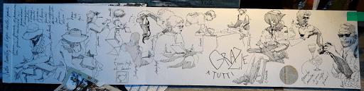 JEANNE PAPA_carnet de voyage aquarelle _ NAPLES