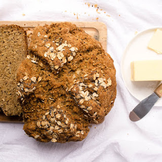 Rustic Whole Grain Soda Bread