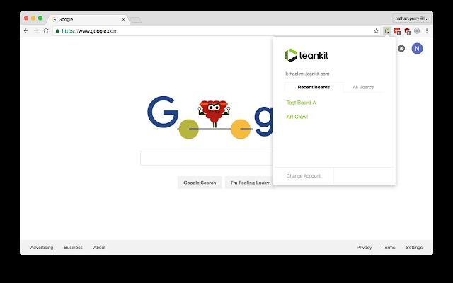 LeanKit Chrome Extension