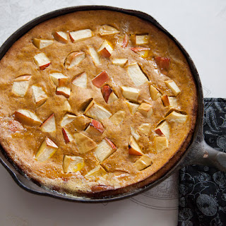 Spiced Pumpkin Apple Pancake