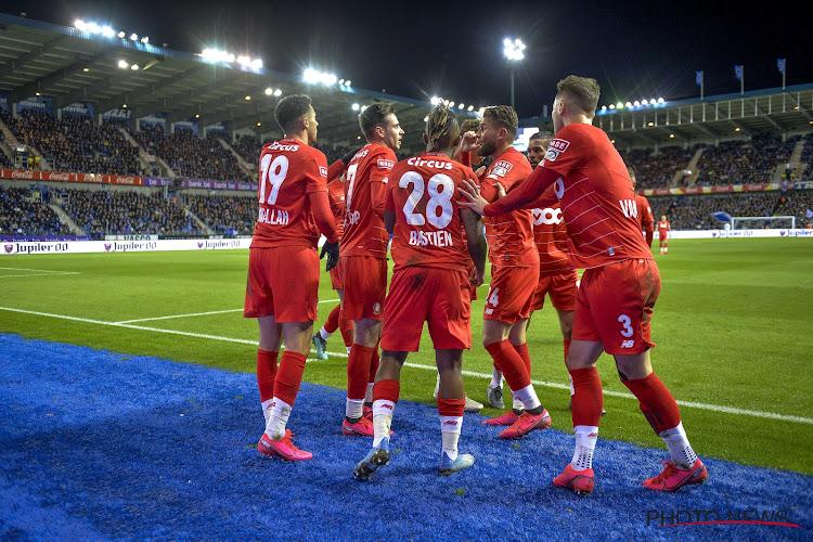 Standard zet reuzenstap richting play-off 1 na overwinning tegen Racing Genk