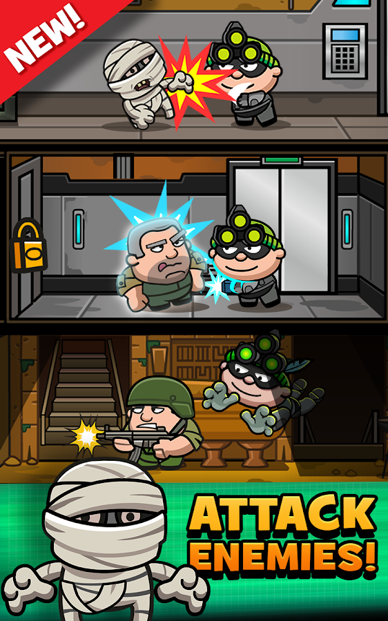 Bob The Robber 3- screenshot