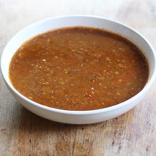 Tomato & Lentil Soup.