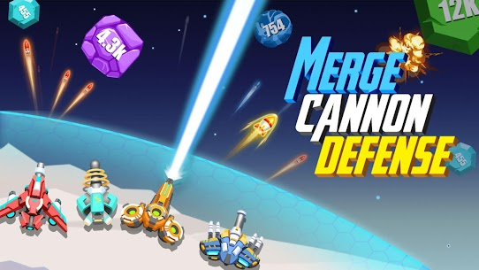 Merge Cannon Defense MOD APK [Unlimited Money] 1