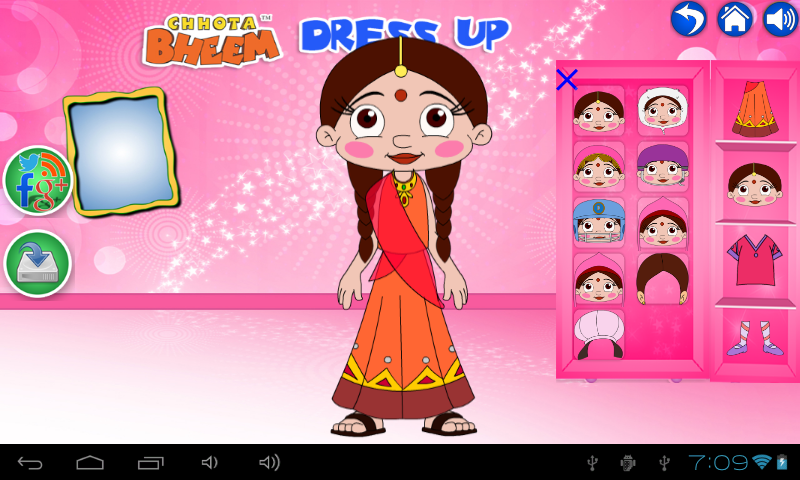 Chhota Bheem DressUp - Android Apps on Google Play
