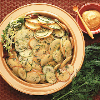 Cucumber and Dill Potato Salad