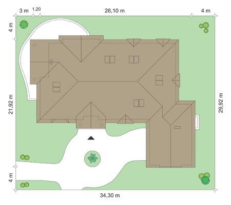Rezydencja Parkowa 2 - Sytuacja