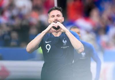 """Didier Deschamps prend la défense d'Olivier Giroud: """"Il a été injustement critiqué"""""""