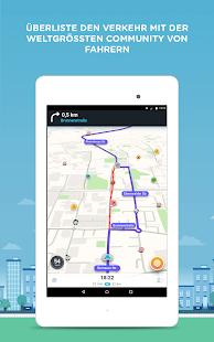 Waze - GPS, Echtzeit-Navigation, Karten & Verkehr Screenshot