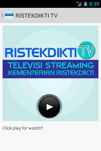 RISTEKDIKTI TV- screenshot thumbnail