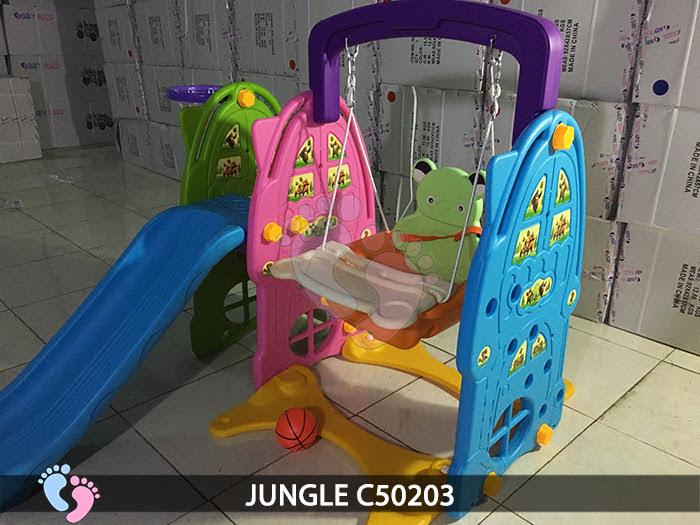 Cầu trượt cho bé 3 in 1 Jungle C50203 3