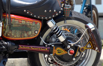 Photo: Some detail from the bike I posted previously.