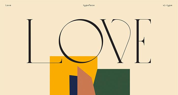 Love Typeface