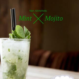 Non-Alcoholic Mint Mojito.