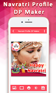Navratri Profile DP Maker : Stickers, Greetings - náhled