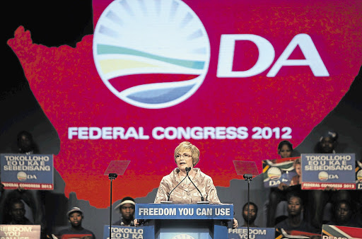 Helen Zille speaks at the DA Federal Congress 2012 at the Birchwood Conference Centre in Boksburg on the East Rand. File photo.