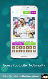 Guess Footballer Nationality APK screenshot thumbnail 3