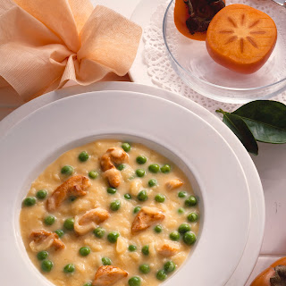 "Spargelcremesuppe ""Madras"""