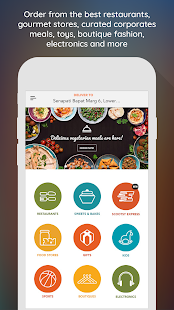 Scootsy - the premium delivery service- screenshot thumbnail