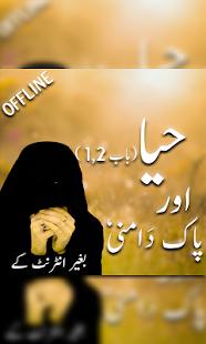Haya aur pakdamni - náhled