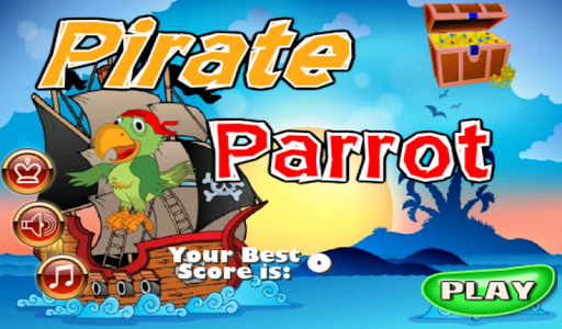 Pirate Parrot. Treasure hunt Screenshot