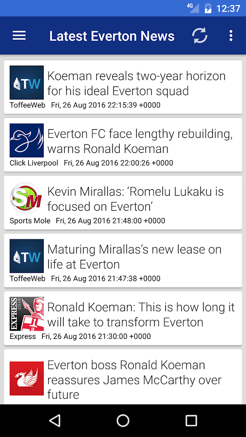 Everton Aren't We- screenshot