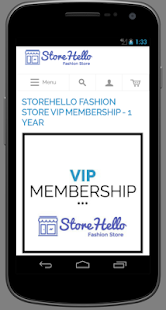 StoreHello eCommerce Software- screenshot thumbnail