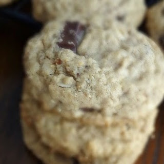 Oatmeal Almond Chocolate Chunk Cookies