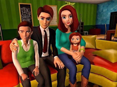 Virtual Mother Game: Family Mom Simulator apk screenshot