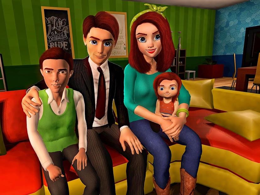 Virtual Mother Game: Family Mom Simulator screenshot 9