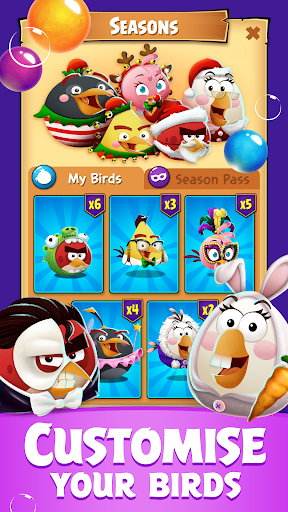 Angry Birds POP Bubble Shooter apkpoly screenshots 5