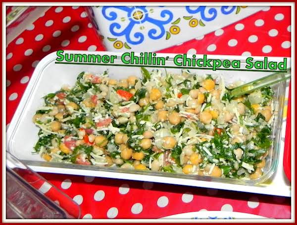 Summer Chillin' Chickpea Salad