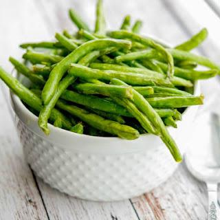 Sea Salt Roasted Green Beans