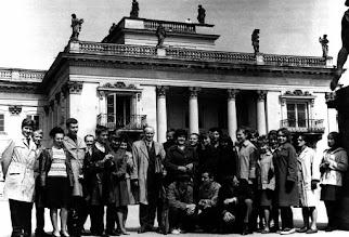 Photo: maj 1965 r. Warszawa Łazienki, kl.4,